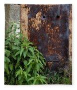 Covered In Rust Fleece Blanket