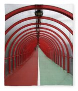 Covered Walkway 01 Fleece Blanket