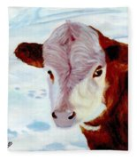 Cow A Bunga Fleece Blanket