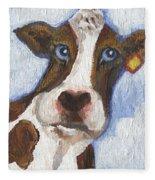 Cow Fantasy Two Fleece Blanket