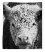 Cow Square Fleece Blanket