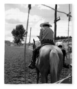 Cowboy 1 Fleece Blanket