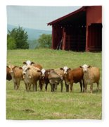 Cows8918 Fleece Blanket