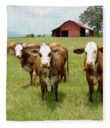 Cows8931 Fleece Blanket