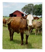 Cows8945 Fleece Blanket