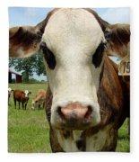 Cows8957 Fleece Blanket