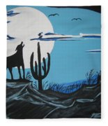 Coyote Fleece Blanket