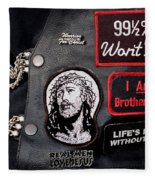 Cpr - Christian Prayer Riders Fleece Blanket