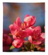 Crab Apple Fleece Blanket