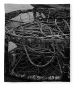 Crab Pot Fleece Blanket