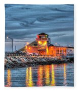 Crab Shack Seafood Restaurant Fleece Blanket
