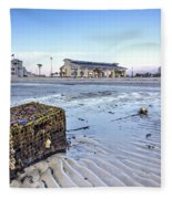 Crab Trap Washed Ashore Fleece Blanket