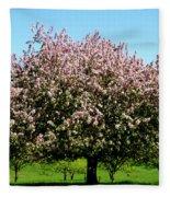 Crabapple Orchard Fleece Blanket