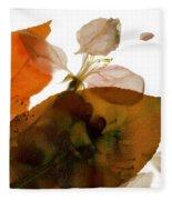 Crabapple Rose I Fleece Blanket
