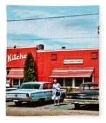 Crabtree's Kitchen Fleece Blanket