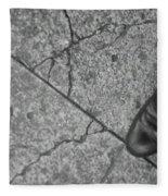 Crack In The Pavement Fleece Blanket
