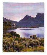Cradle Mountain Tasmania Fleece Blanket