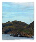 Craggy Coast 1 Fleece Blanket
