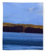 Craggy Coast 2 Fleece Blanket