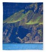 Craggy Coast 7 Fleece Blanket