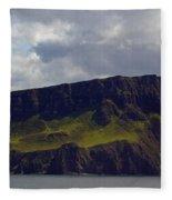 Craggy Coast 9 Fleece Blanket