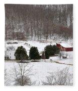 Craig County Farm Fleece Blanket