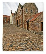 Crail Scotland Fleece Blanket