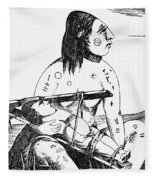 Cranium Shaping Fleece Blanket