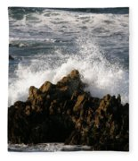 Crashing Wave Fleece Blanket