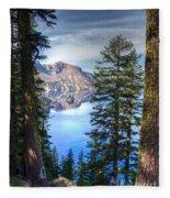 Crater Lake 1 Fleece Blanket