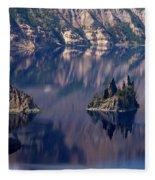 Crater Lake 2 Fleece Blanket