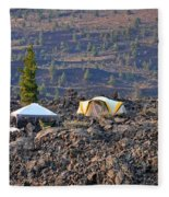 Craters Of The Moon Fleece Blanket