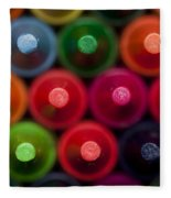 Crayon Tips 1 A Fleece Blanket