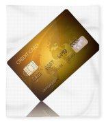Credit Card Fleece Blanket