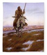 Cree Indian Fleece Blanket