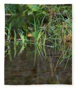Creek Grass Fleece Blanket