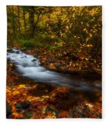 Creekside Colors Fleece Blanket