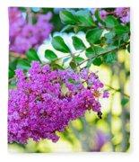 Crepe Myrtle Tree By Kaye Menner Fleece Blanket