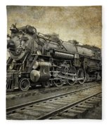 Crescent Limited Locomotive Of 1927 Fleece Blanket