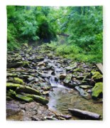 Cresheim Creek Fleece Blanket