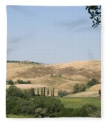 Crete Senesi Fleece Blanket