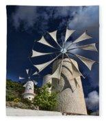Creton Windmills Fleece Blanket