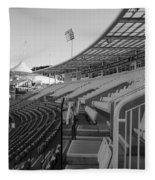 Cricket Pavilion Fleece Blanket