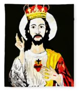 Cristo Rei Fleece Blanket