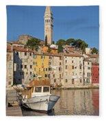 Croatia Fleece Blanket