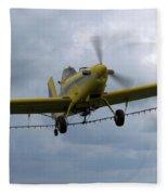 Crop Duster Fleece Blanket