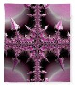 Cross Of Thorns Fleece Blanket