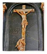 Cross Of Trier Fleece Blanket