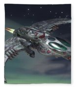 Cross Wing Fleece Blanket