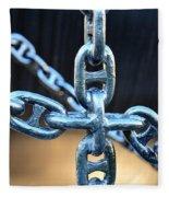 Crossing Chains Fleece Blanket